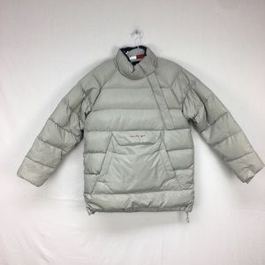 Tommy Girl Grey Puffer Pullover